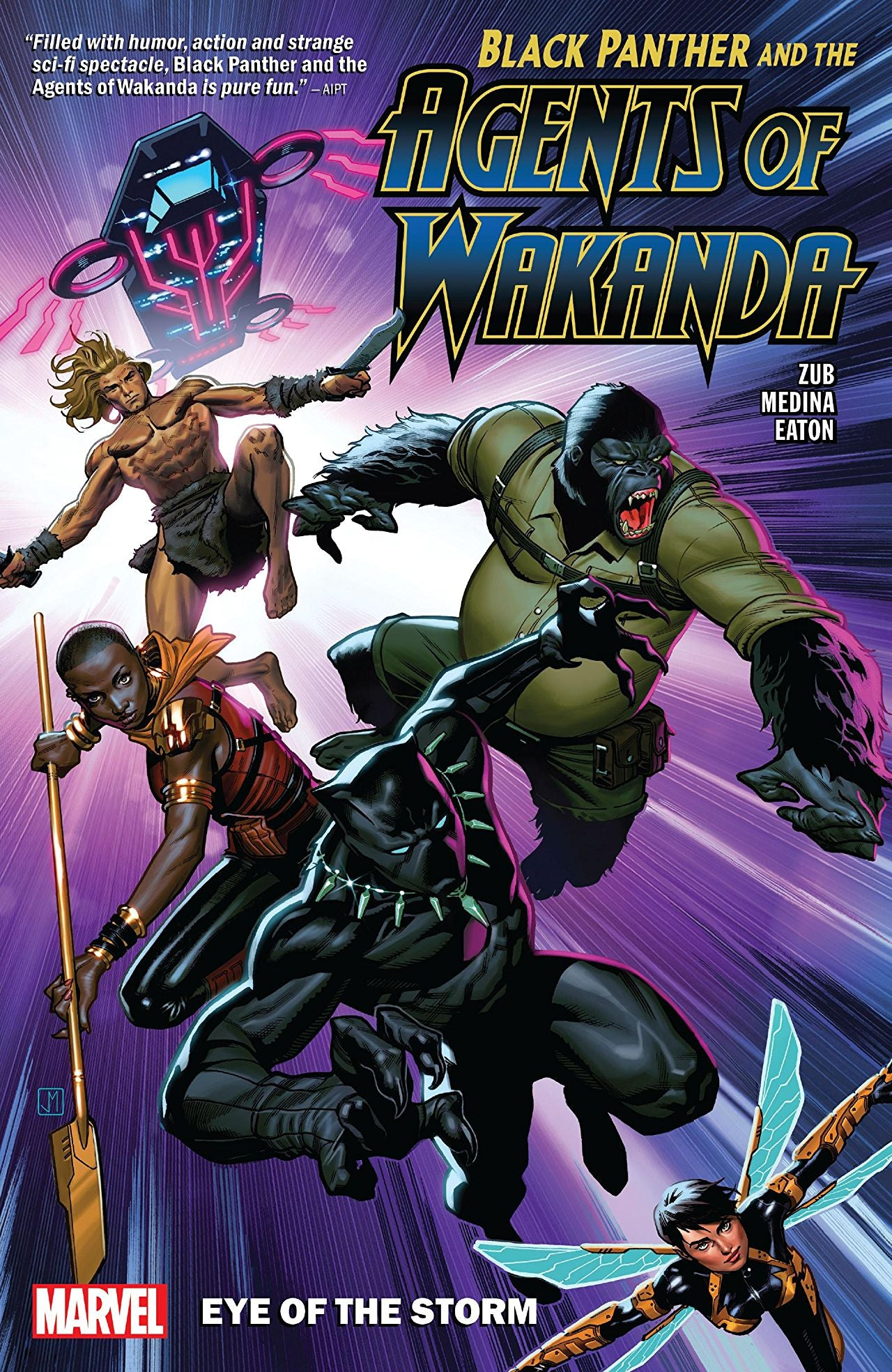 Black Panther and the Agents of Wakanda (2019) Volume 1: Eye of the Storm