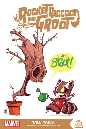 Rocket Raccoon and Groot (2016): Tall Tails