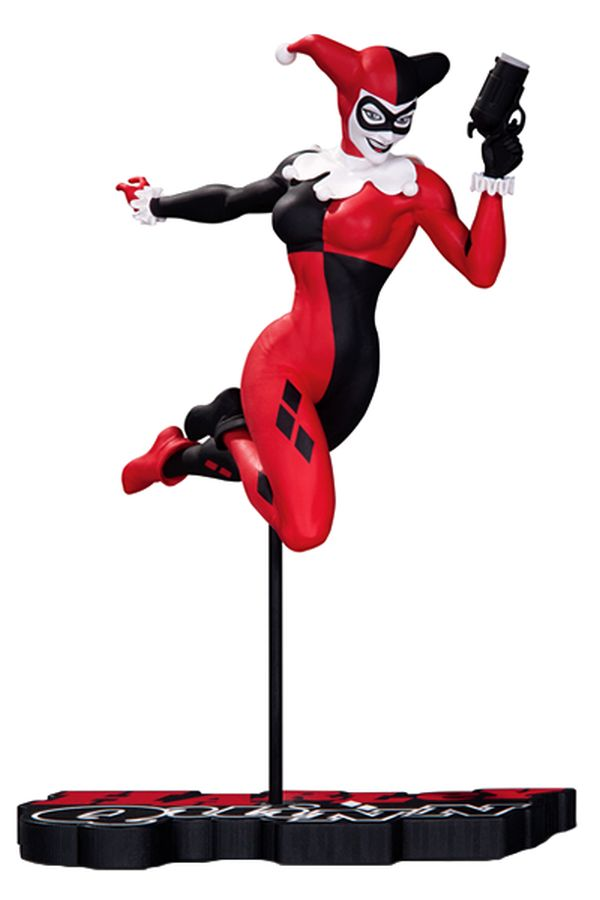 Harley Quinn: Red, White and Black - Terry Dodson Statue