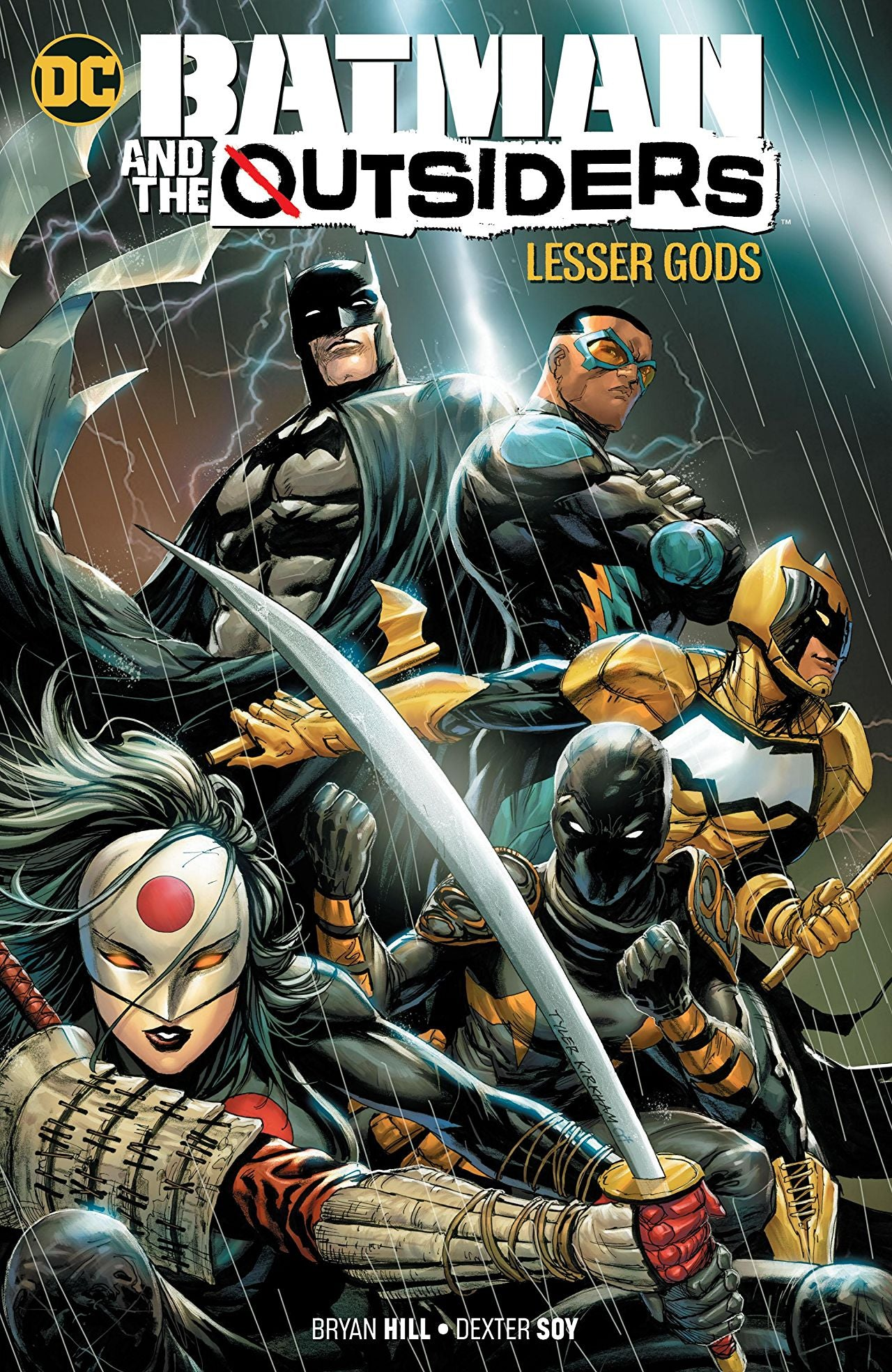 Batman and the Outsiders (2019) Volume 1: Lesser Gods