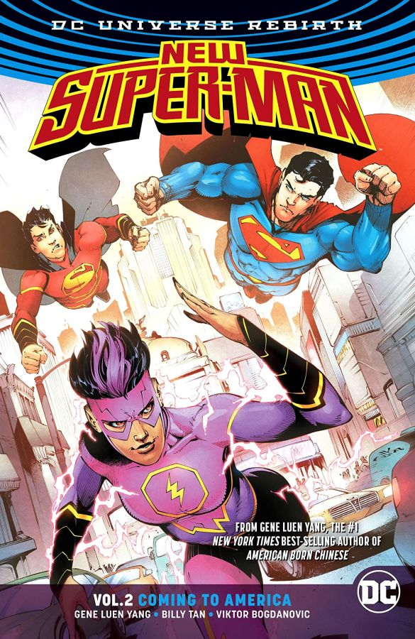 New Super-Man (DC Universe Rebirth) Volume 2: Coming to America