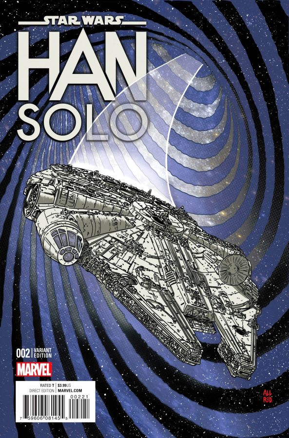 Star Wars: Han Solo (2016) #2 (of 5) Mike Allred Cover