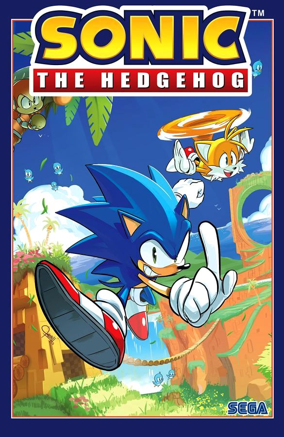 Sonic The Hedgehog (2018) Volume 1: Fallout