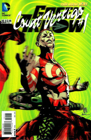 Green Arrow (The New 52) #23.1: Count Vertigo 3D Cover