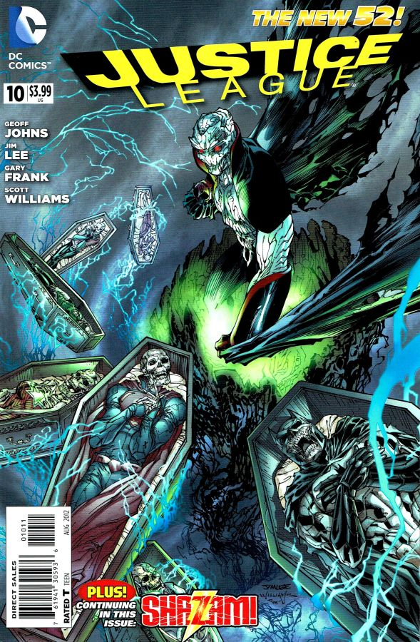 Justice League (The New 52) #10