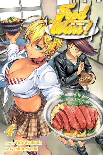 Food Wars! Shokugeki No Soma Volume 04