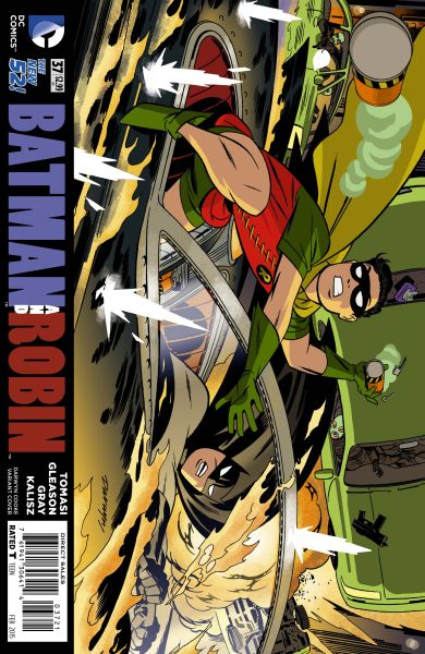 Batman and Robin (The New 52) #37 Darwyn Cooke Variant