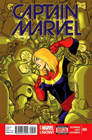 Captain Marvel (2014) #05