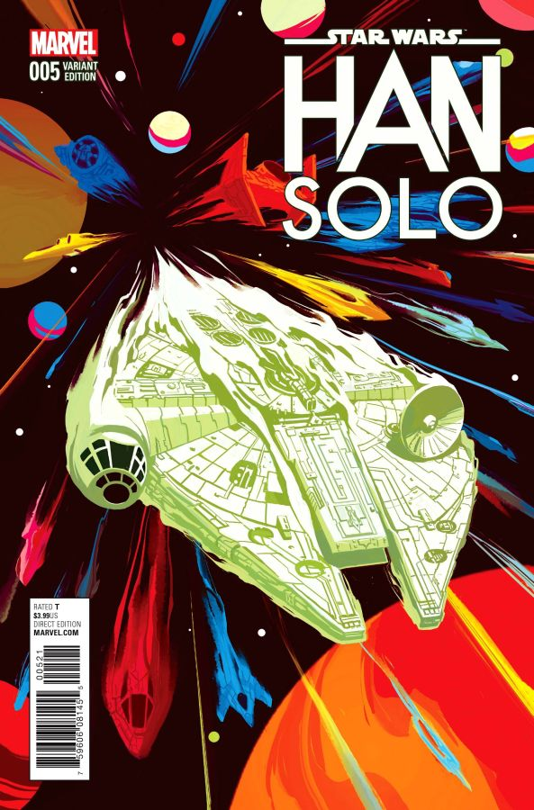 Star Wars: Han Solo (2016) #5 (of 5) Mike Del Mundo Cover