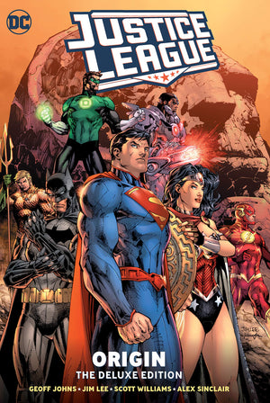 Justice League (2011): Origin - The Deluxe Edition HC