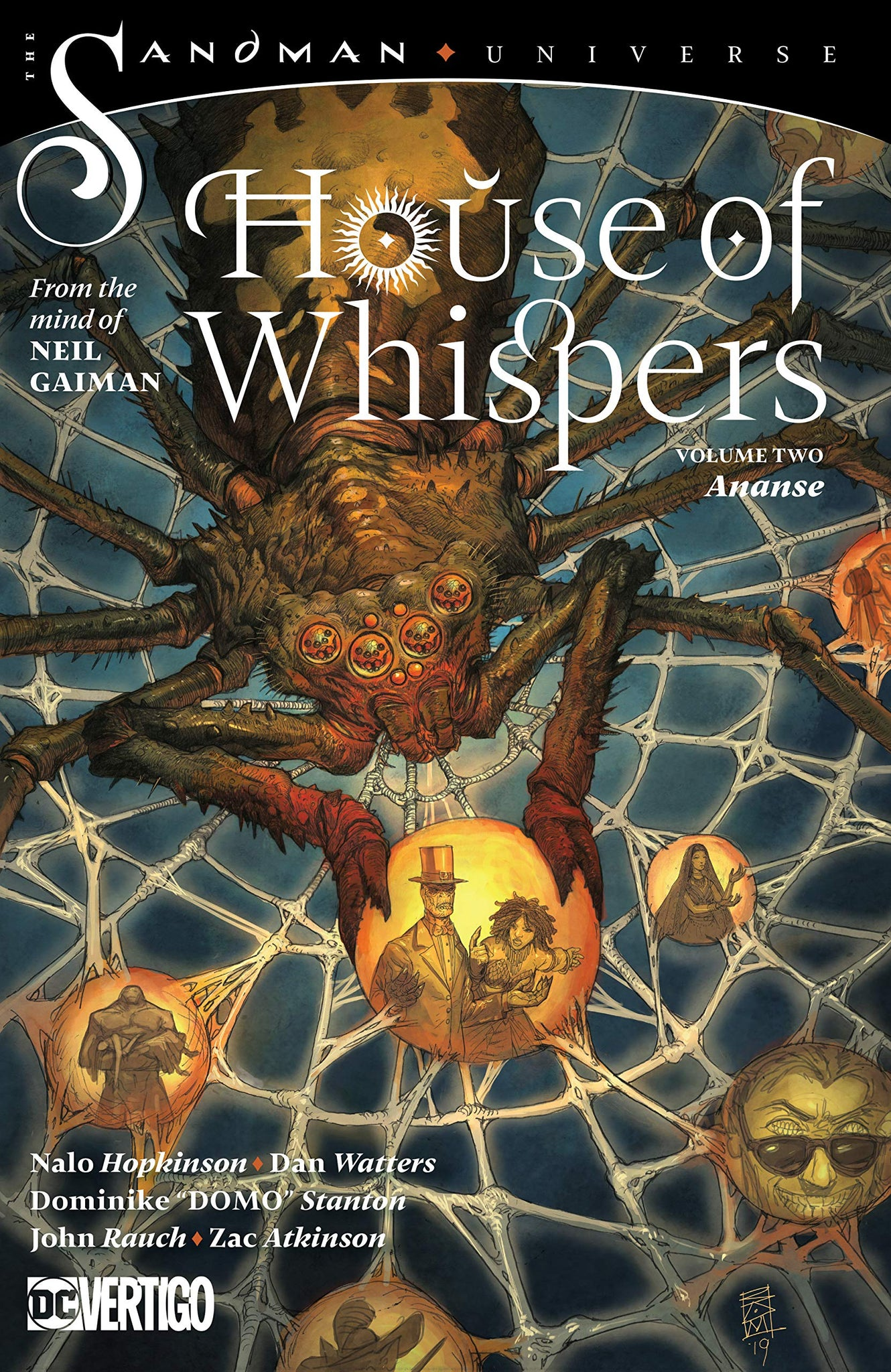 House of Whispers (2018) Volume 2: Ananse