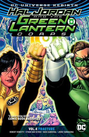 Hal Jordan and the Green Lantern Corps (DC Universe Rebirth) Volume 4: Fracture