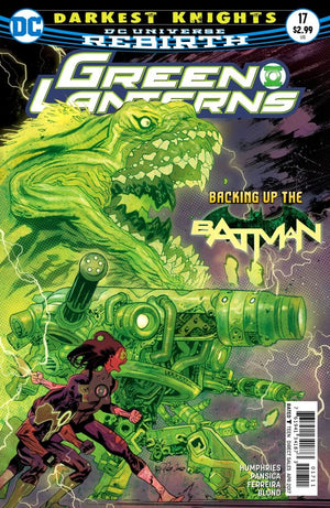 Green Lanterns #17 (DC Universe Rebirth)