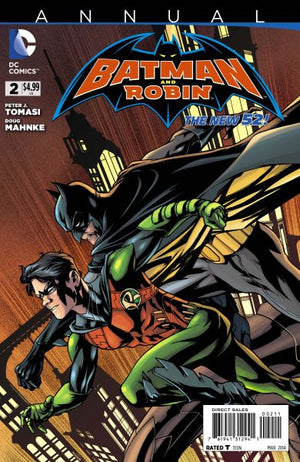 Batman and Robin (The New 52) Annual #2