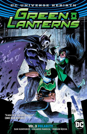 Green Lanterns (DC Universe Rebirth) Volume 3: Polarity