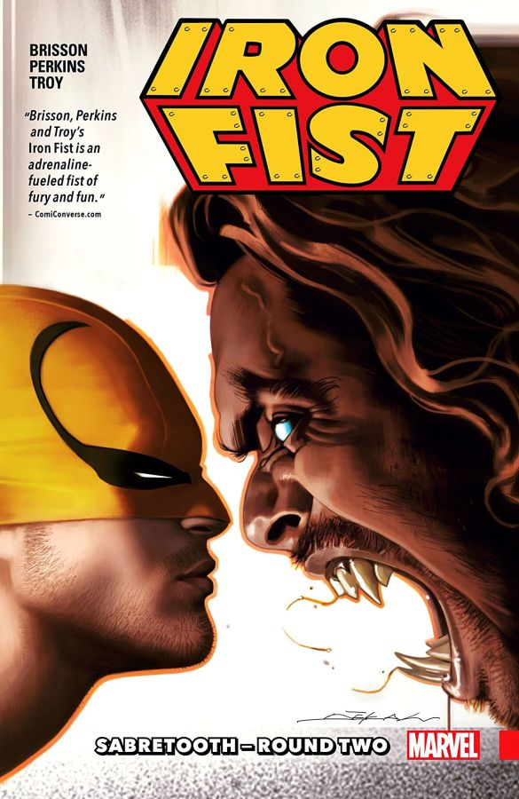 Iron Fist (2017) Volume 2: Sabretooth - Round Two