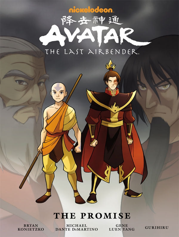 Avatar: The Last Airbender - The Promise Library Edition HC