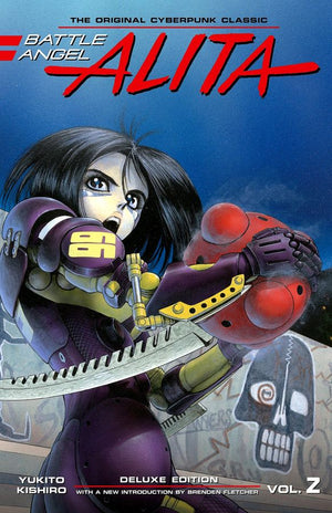Battle Angel Alita - Deluxe Edition Volume 2 HC