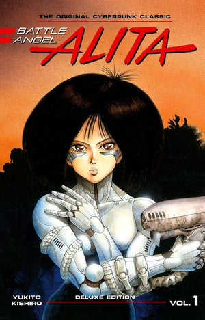 Battle Angel Alita - Deluxe Edition Volume 1 HC