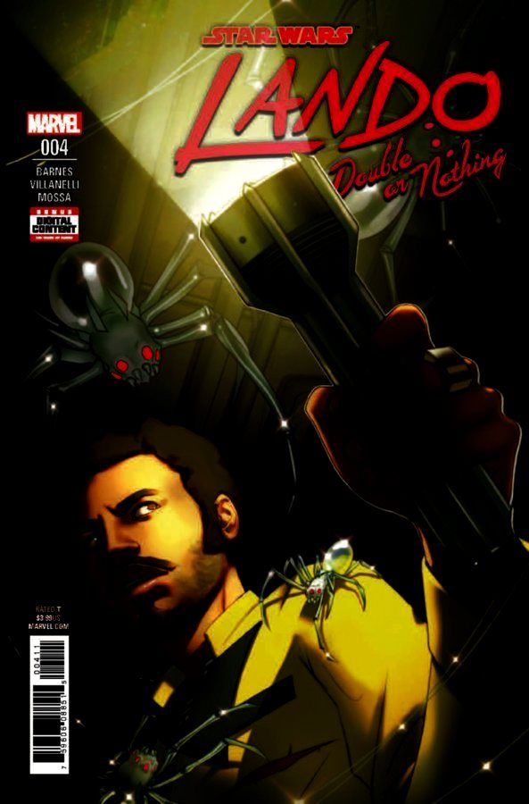 Star Wars - Lando (2018): Double Or Nothing #4 (of 5)
