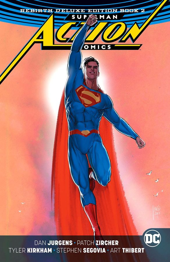 Superman: Action Comics - The Rebirth Deluxe Edition Book 2 HC
