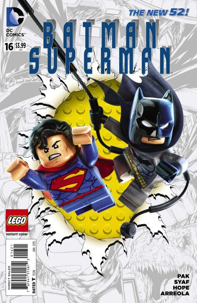 Batman / Superman (The New 52) #16 Lego Variant