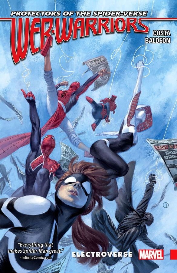 Web-Warriors of the Spider-Verse Volume 1: Electroverse