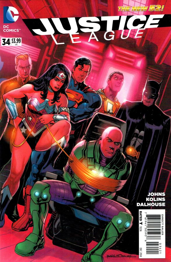 Justice League (The New 52) #34 Variant