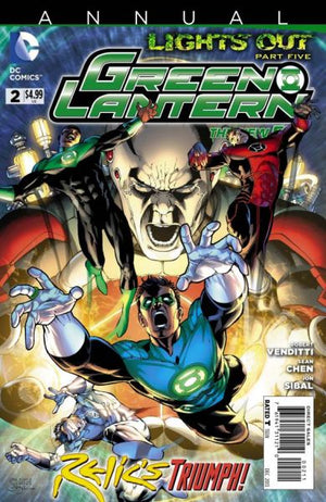 Green Lantern (The New 52) Annual #2