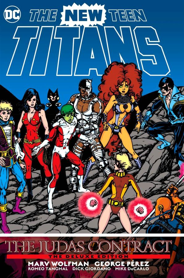 New Teen Titans: The Judas Contract - The Deluxe Edition HC