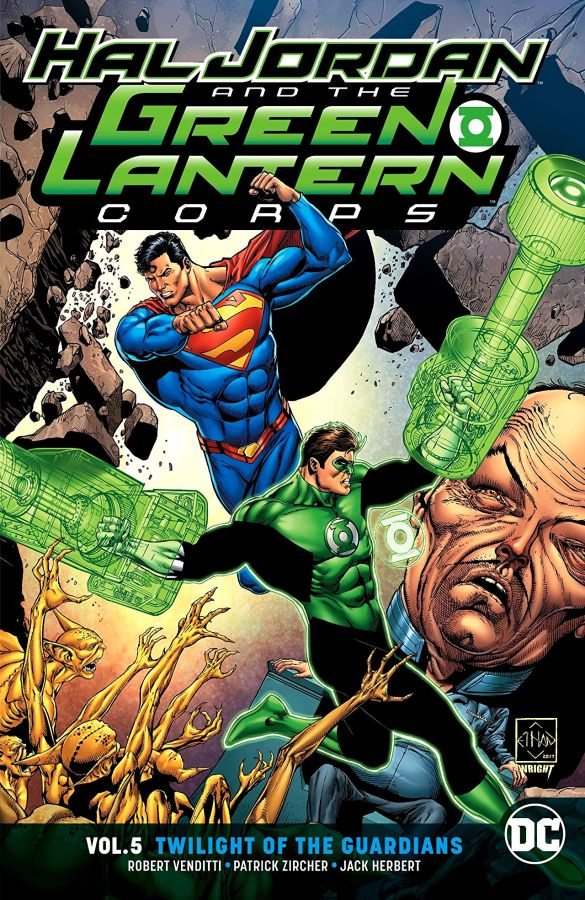 Hal Jordan and the Green Lantern Corps (DC Universe Rebirth) Volume 5: Twilight of the Guardians