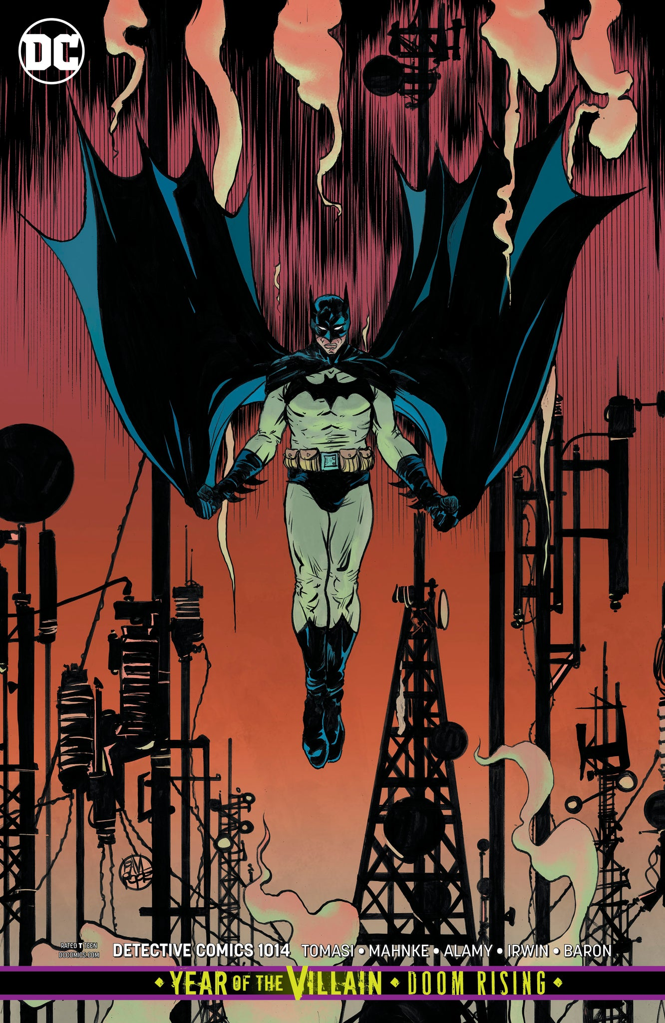 Detective Comics #1014 Paul Pope Card Stock Cover