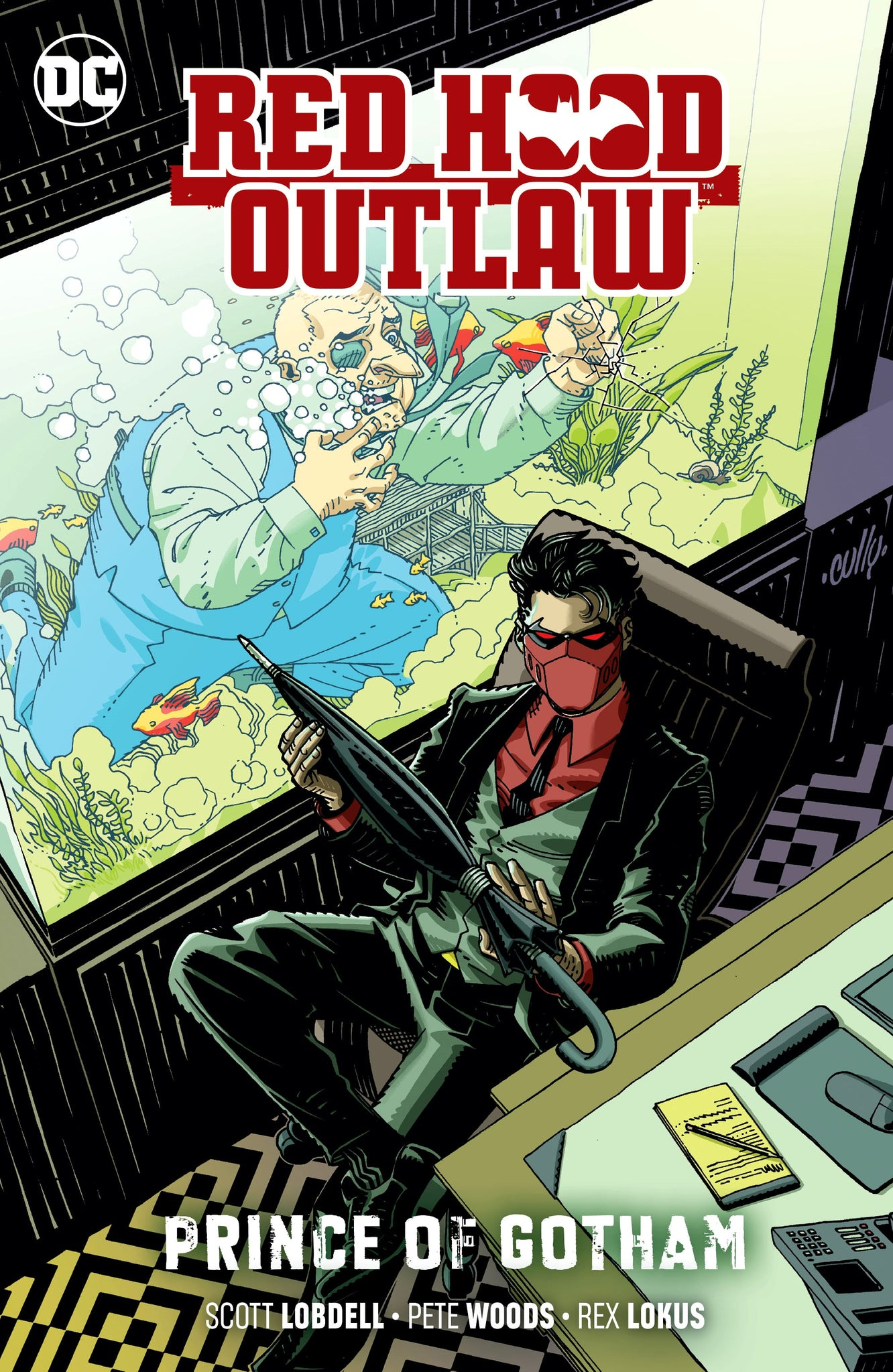 Red Hood: Outlaw (2016) Volume 2: Prince of Gotham
