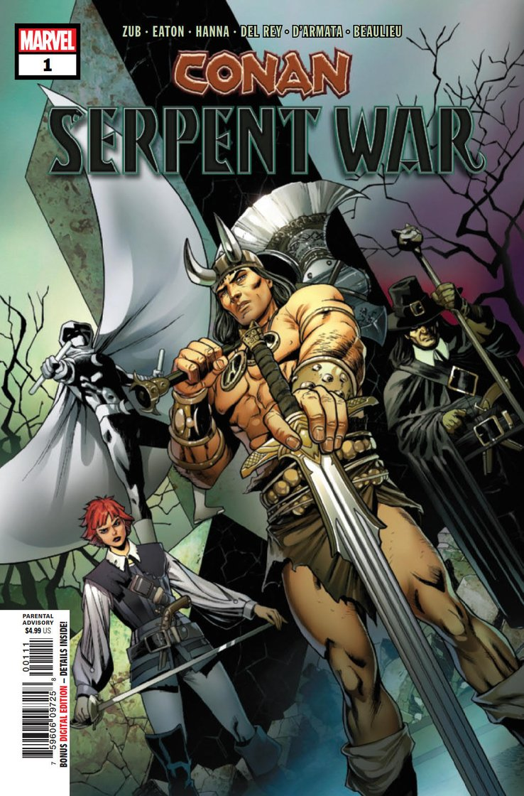 Conan: Serpent War (2019) #1 (of 4)