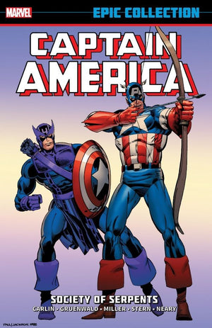 Captain America: Society of Serpents (Epic Collection)