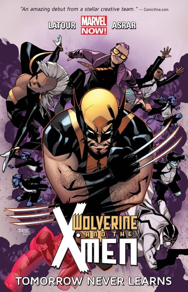 Wolverine and the X-Men (2014) Volume 1: Tomorrow Never Learns