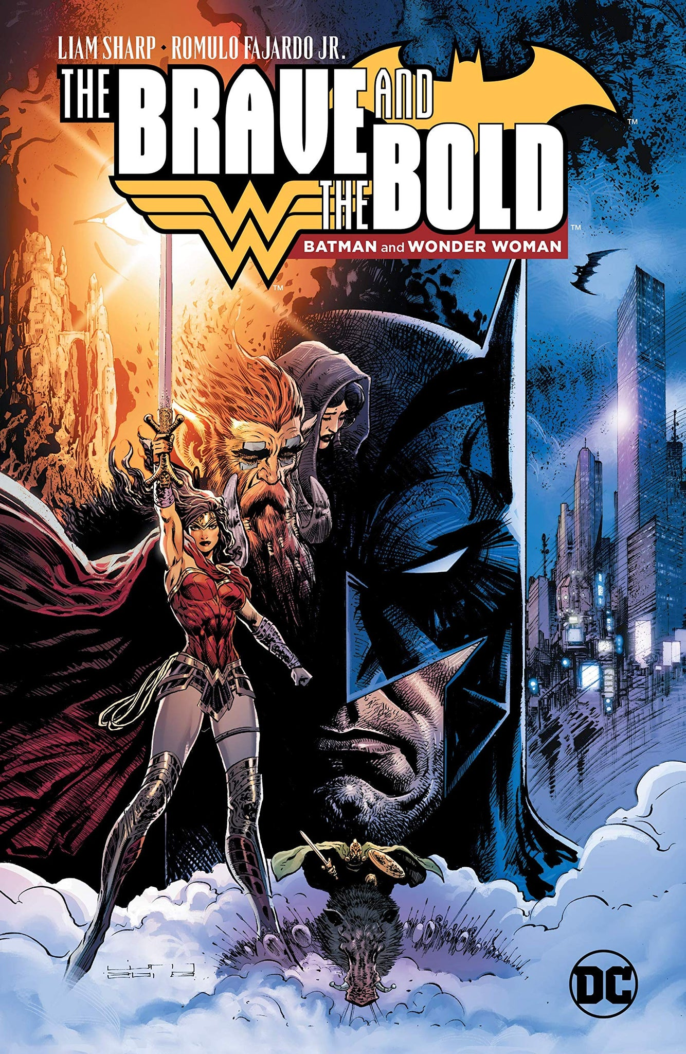 Brave and the Bold (2018): Batman and Wonder Woman HC
