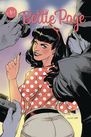Bettie Page (2018) #1 Julius Ohta Cover