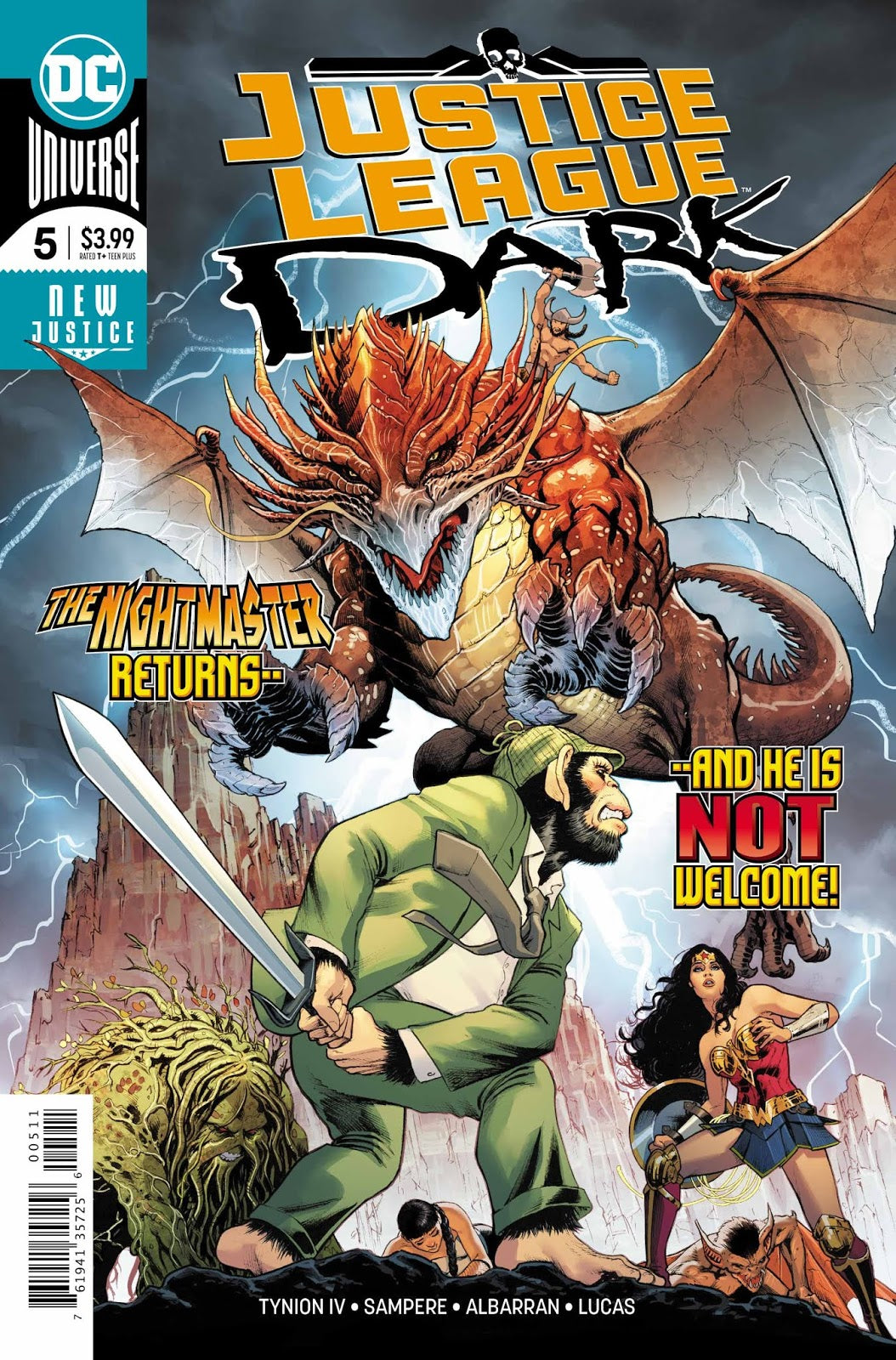 Justice League Dark (2018) #05