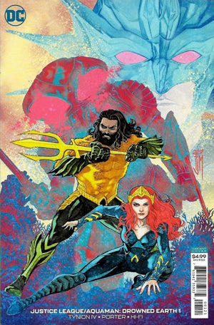 Justice League / Aquaman: Drowned Earth Special #1 Variant
