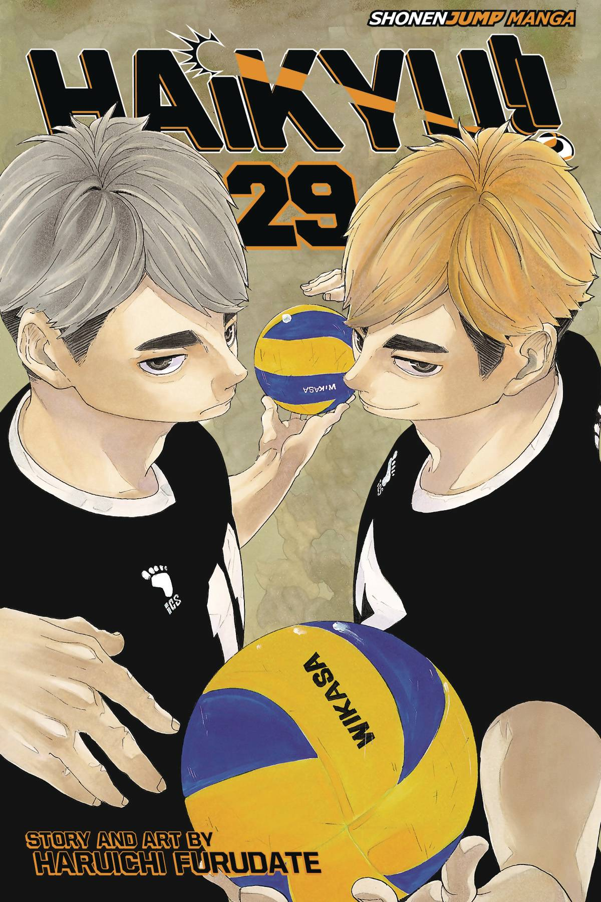 Haikyu!! Volume 29