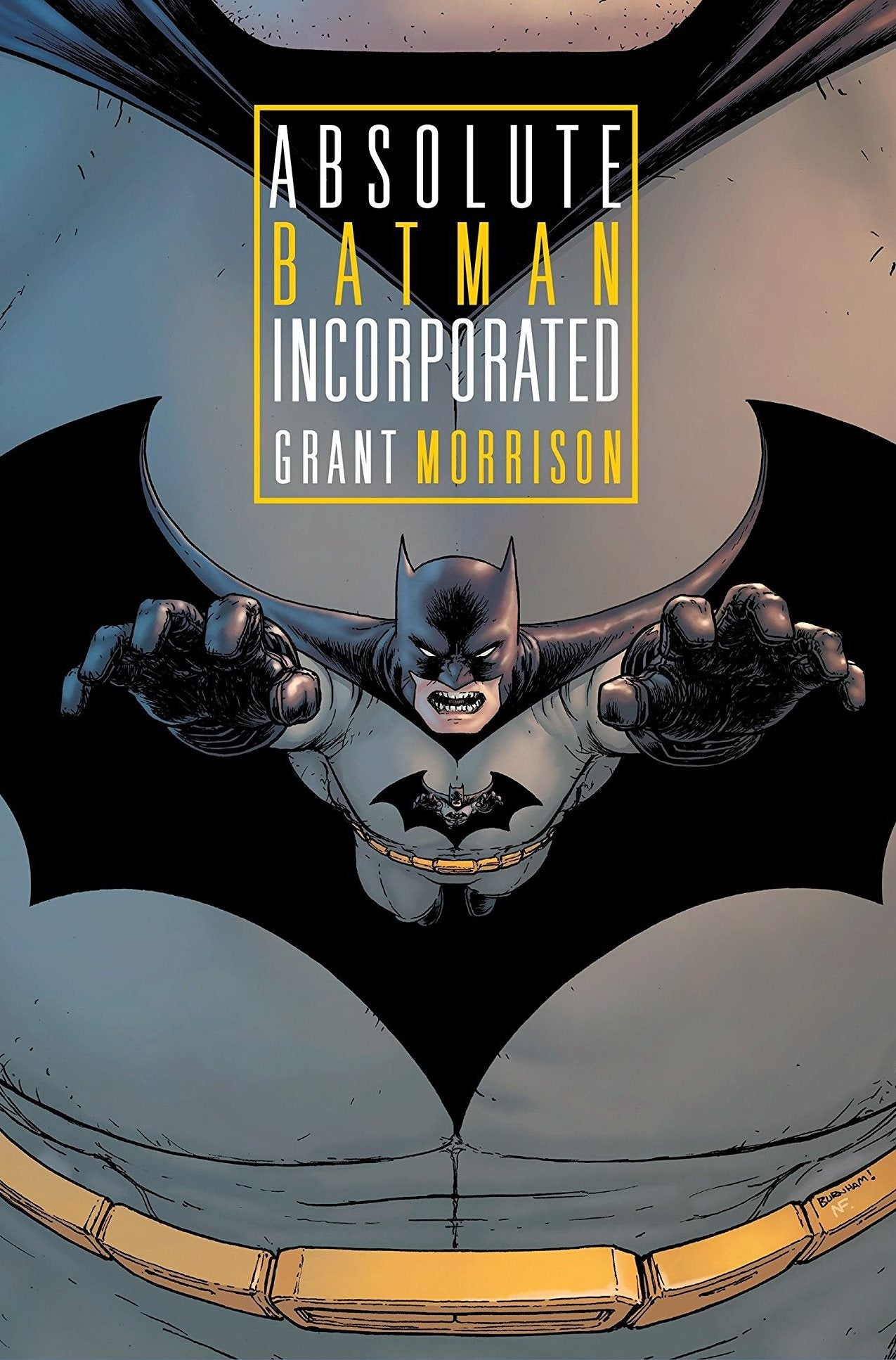 Absolute Batman Incorporated HC
