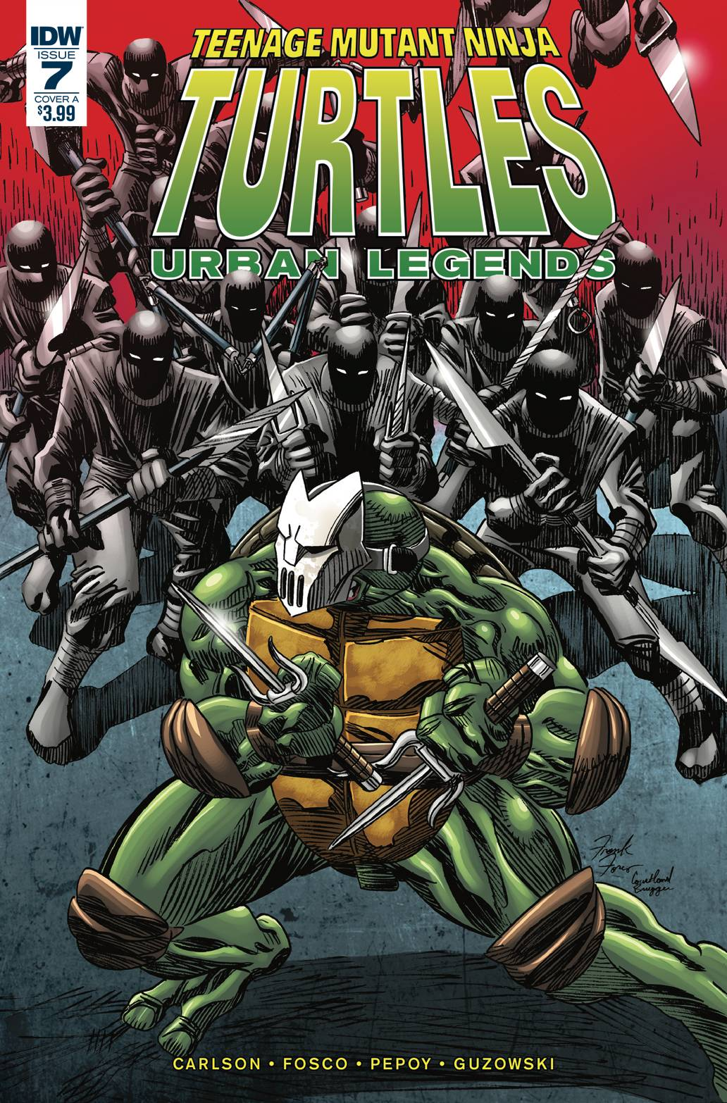 Teenage Mutant Ninja Turtles: Urban Legends #07
