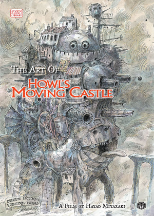 Art of Howl's Moving Castle HC