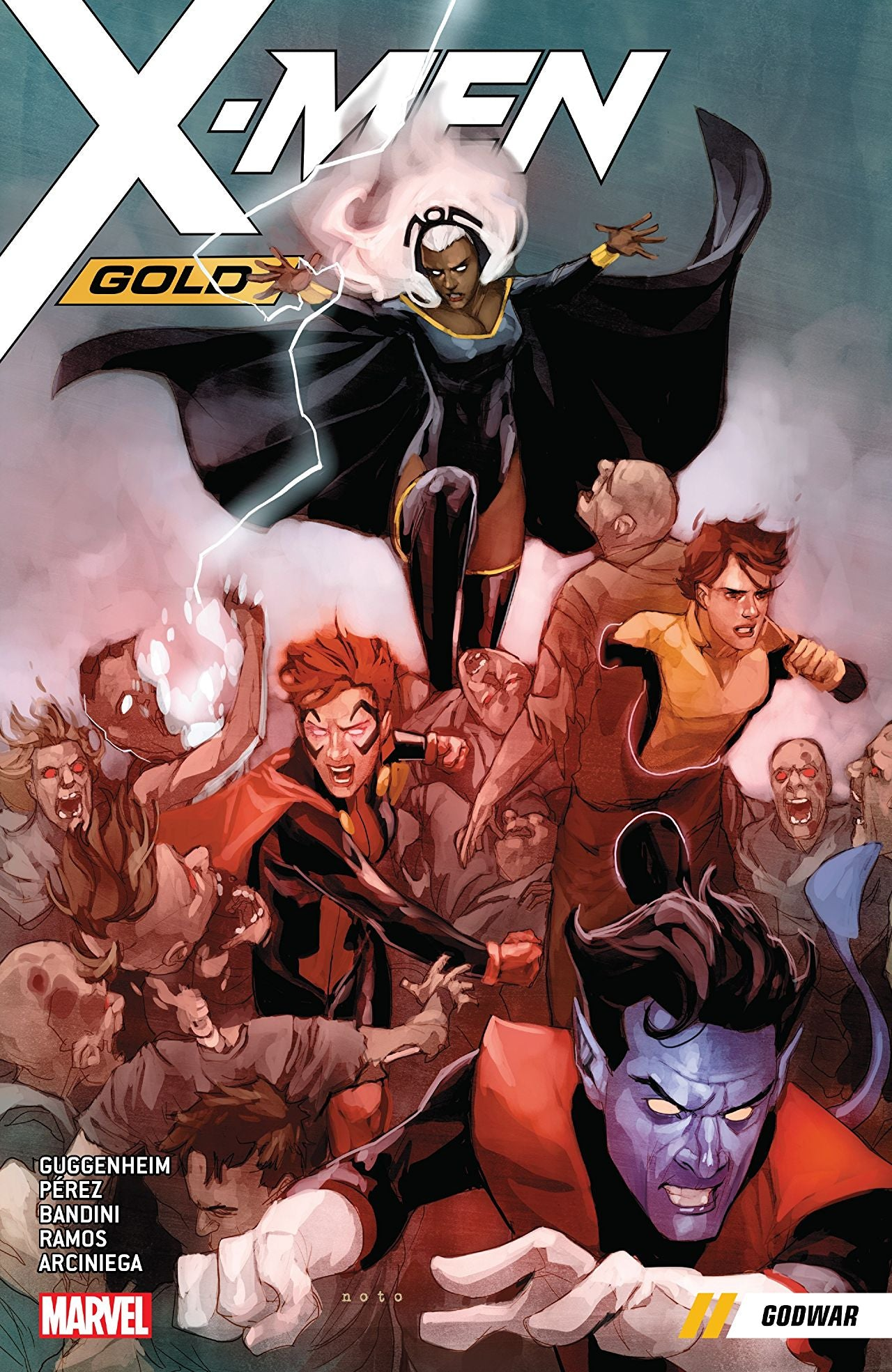 X-Men Gold (2017) Volume 7: Godwar