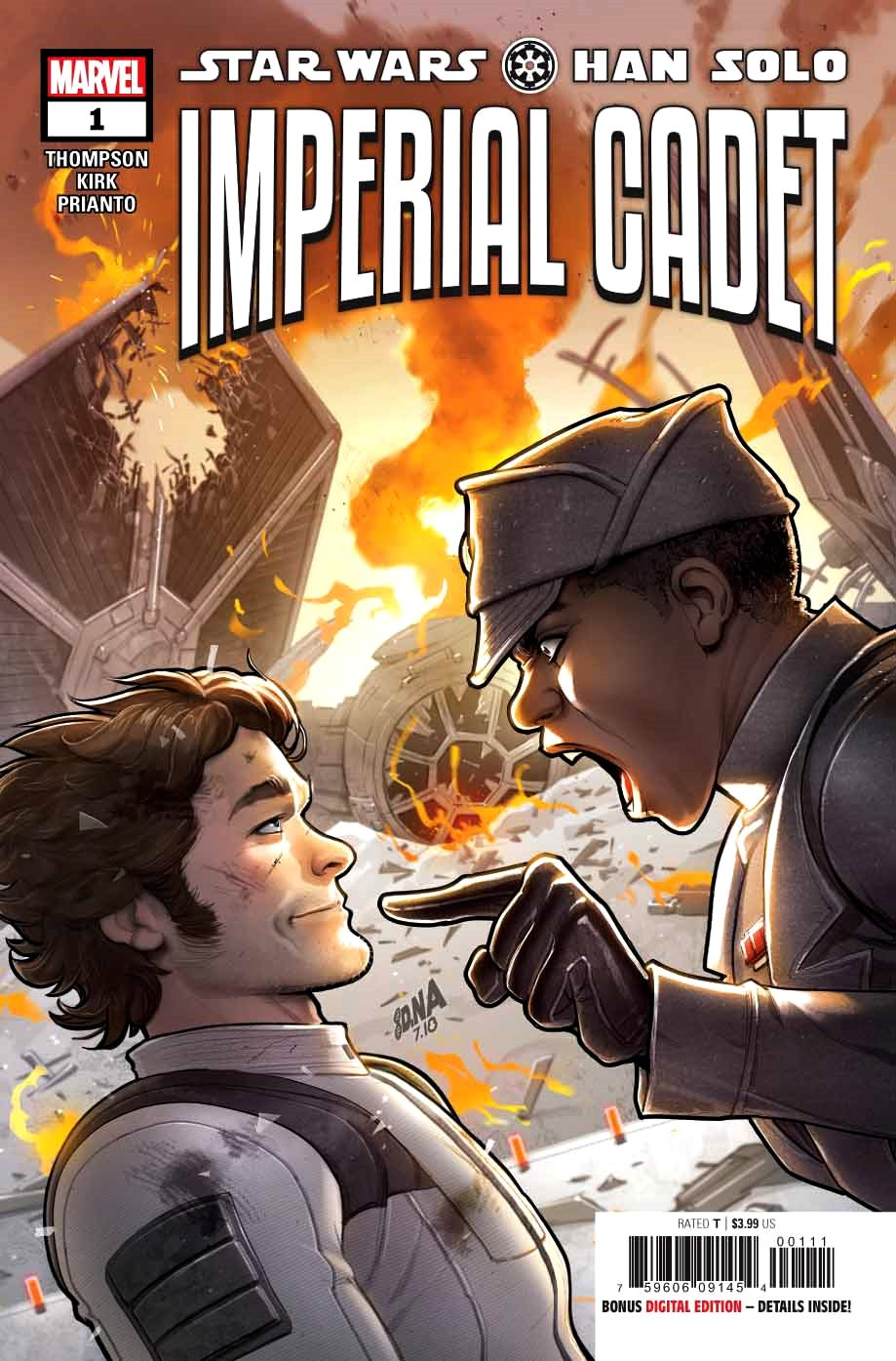 Star Wars - Han Solo: Imperial Cadet (2018) #1 (of 5) David Nakayama Cover