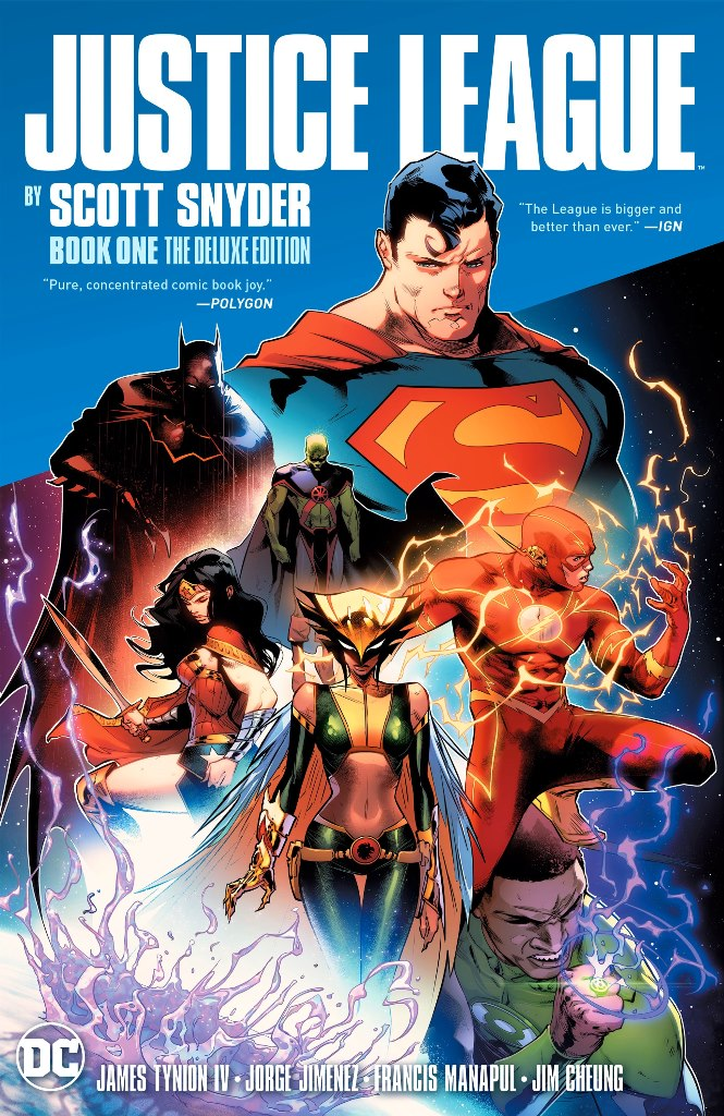 Justice League (2018) by Scott Snyder Book 1 - The Deluxe Edition HC