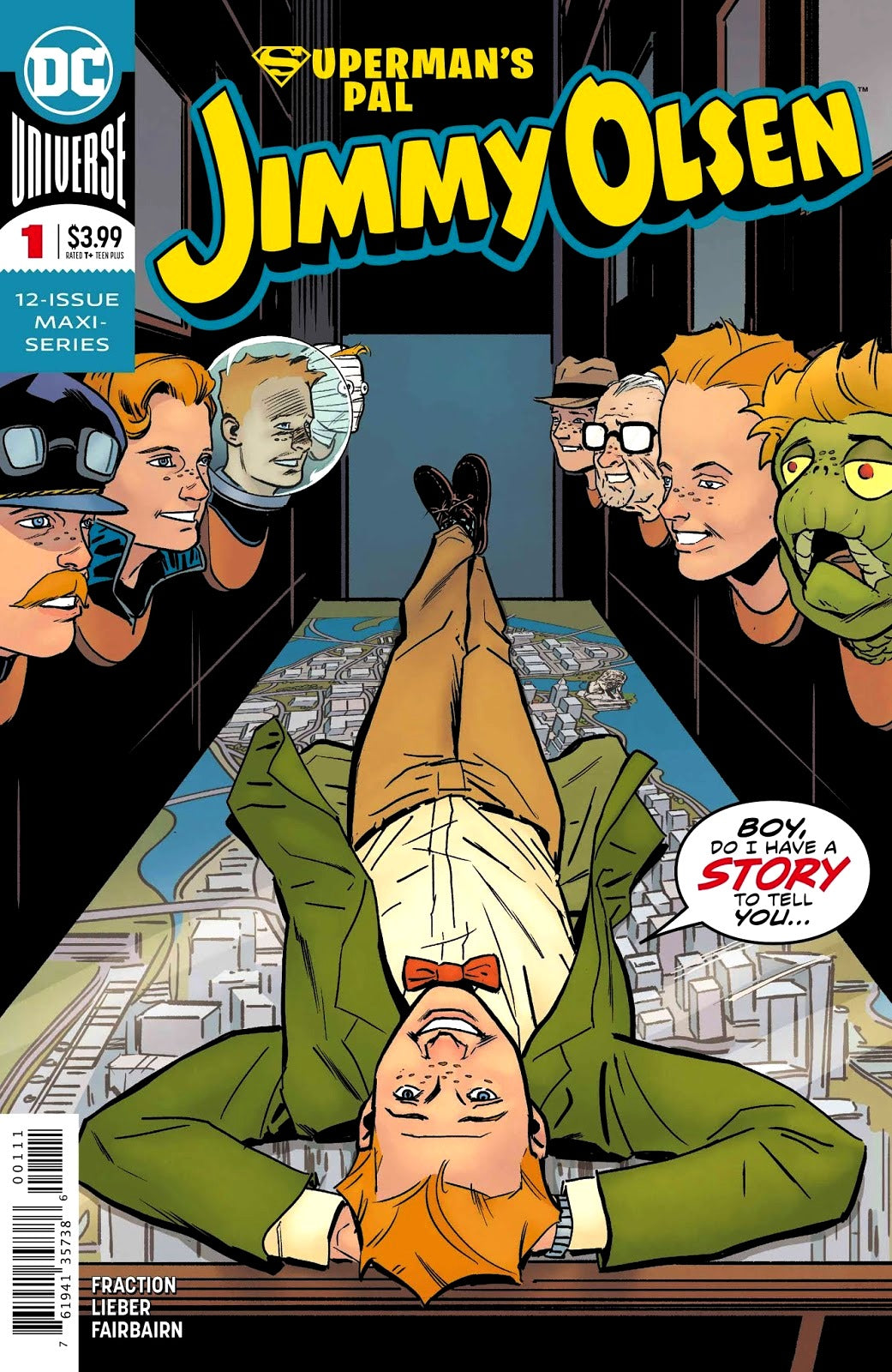 Superman's Pal Jimmy Olsen (2019) #1 (of 12)