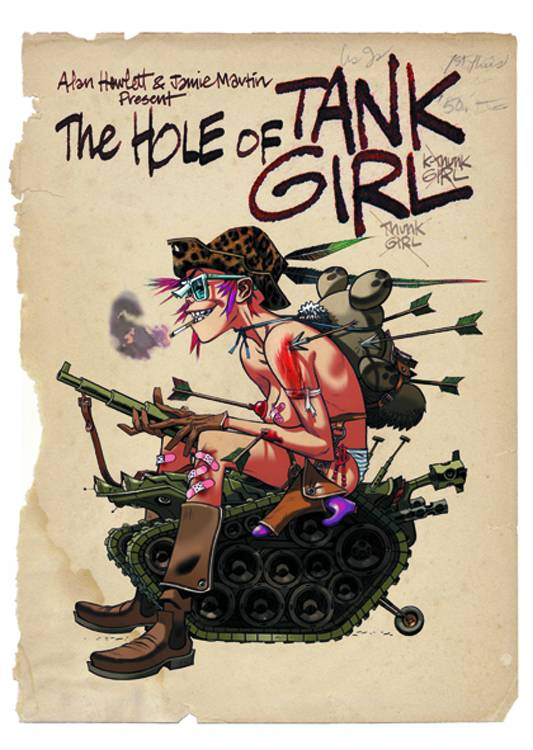 Tank Girl: The Hole of Tank Girl - Slipcase Edition HC