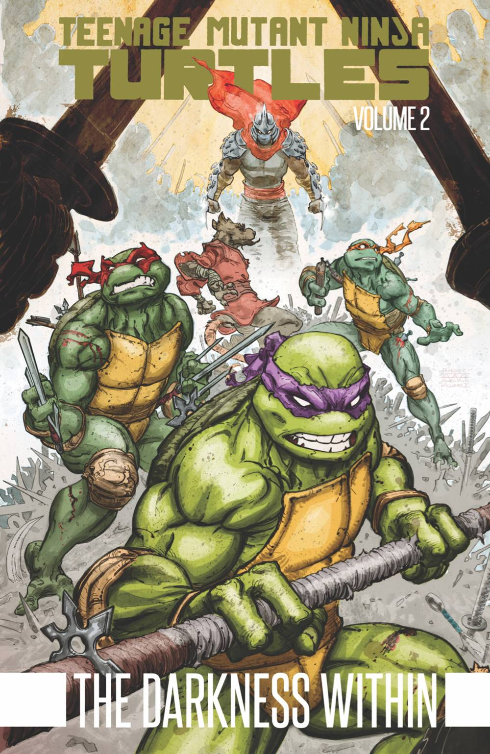 Teenage Mutant Ninja Turtles (2011) Book 2: The Darkness Within
